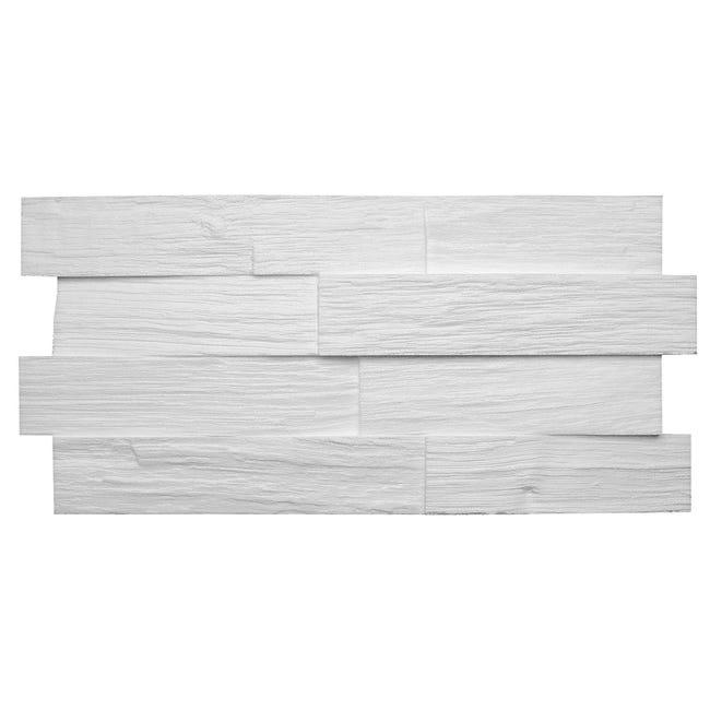 Placchetta decorativa da soffitto Wood L 50 x H 23.5 cm Sp 30 mm - 1