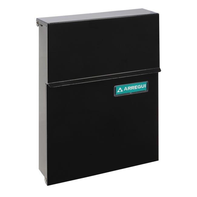 Cassetta postale ARREGUI formato Lettera, nero , L 23 x P 0.65 x H 30.5 cm - 1