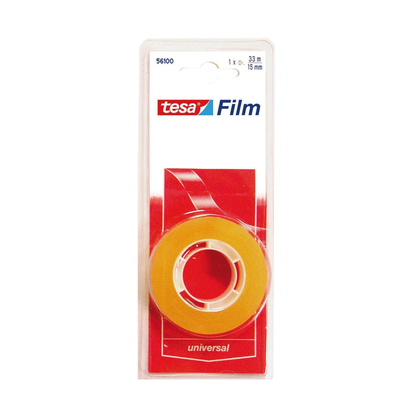 Nastro adesivo TESA tesafilm 15 mm x 0.015 m trasparente - 1