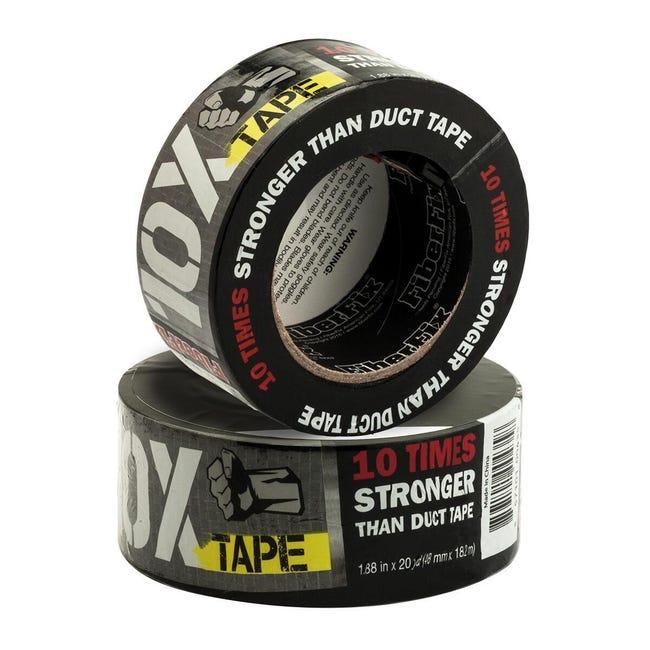 Nastro di riparazione 10X Tape 48 mm x 18 m nero - 1