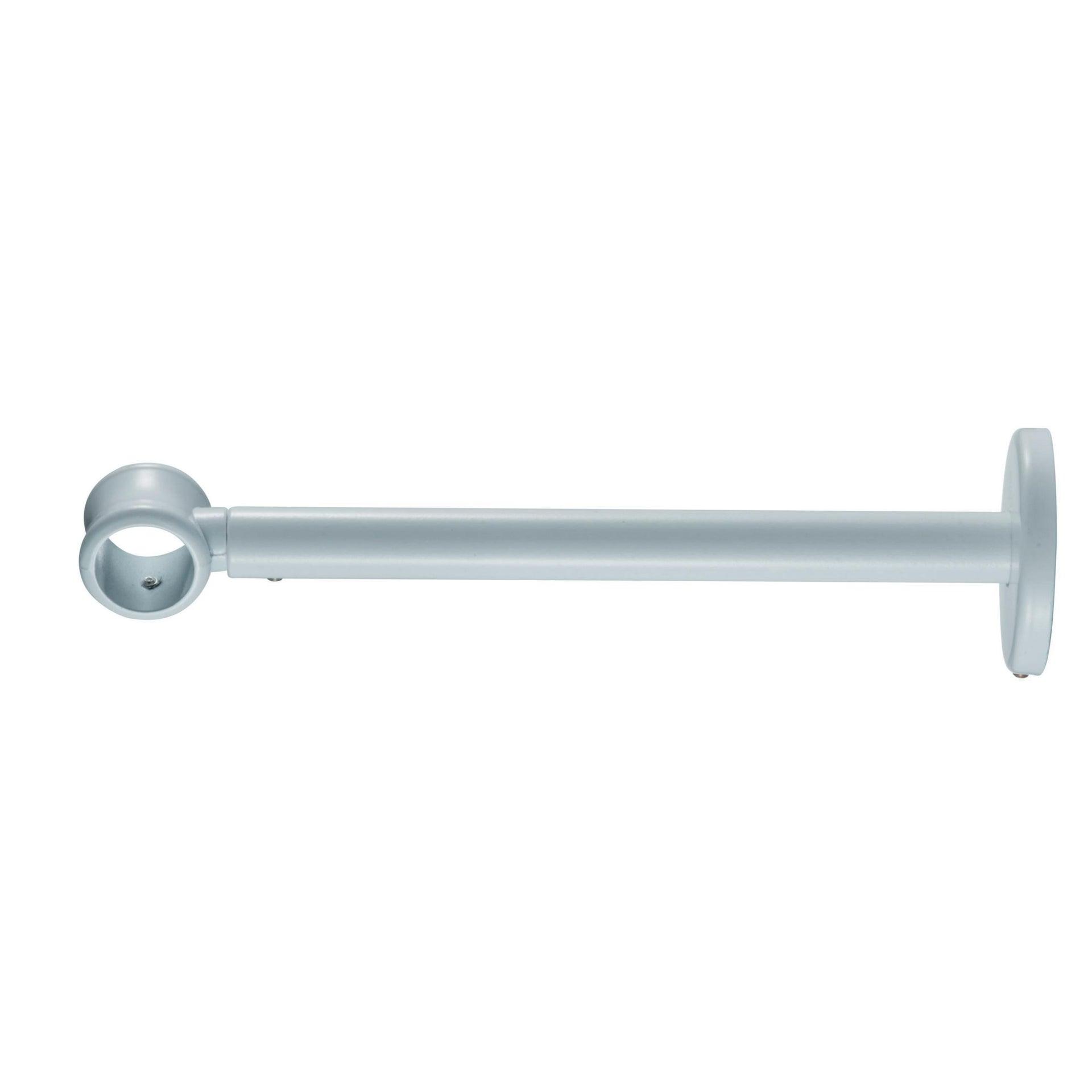 Supporto estensibile singolo chiuso estensibile Ø20mm Nilo in metallo bianco lucido 21cm INSPIRE