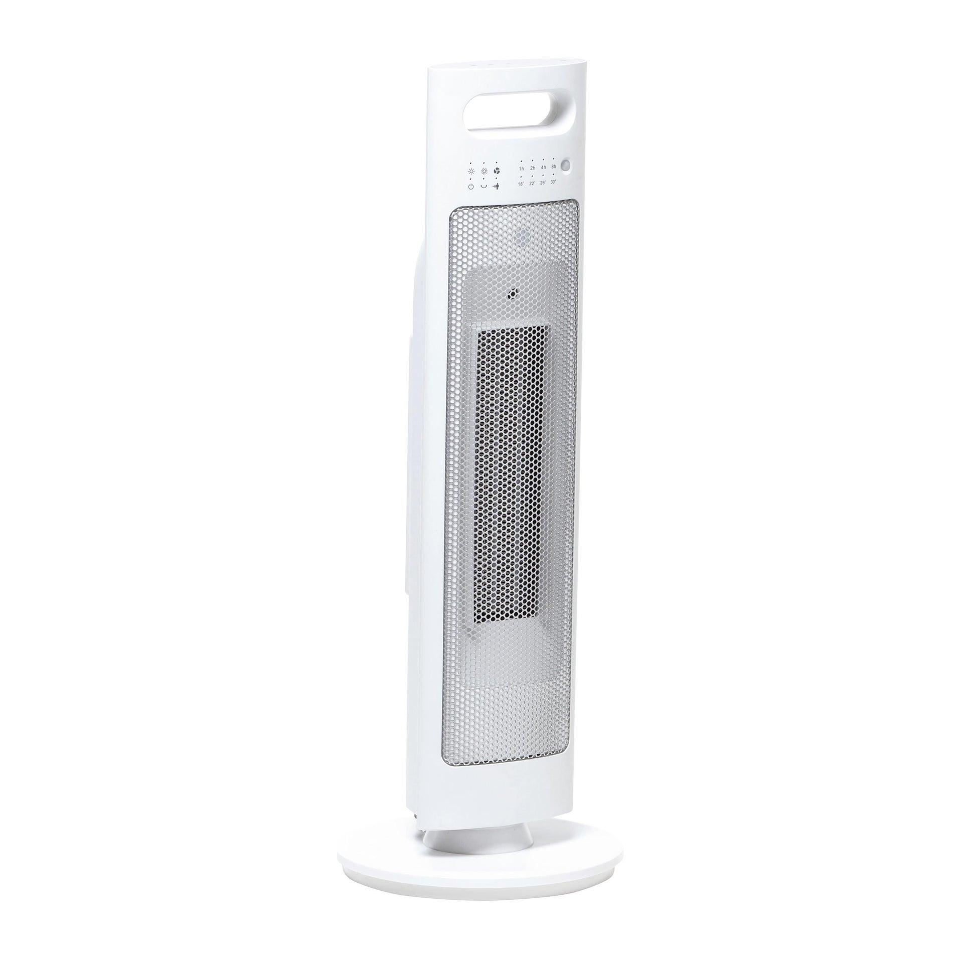Termoventilatore elettrico EQUATION Presence bianco 2500 W - 1