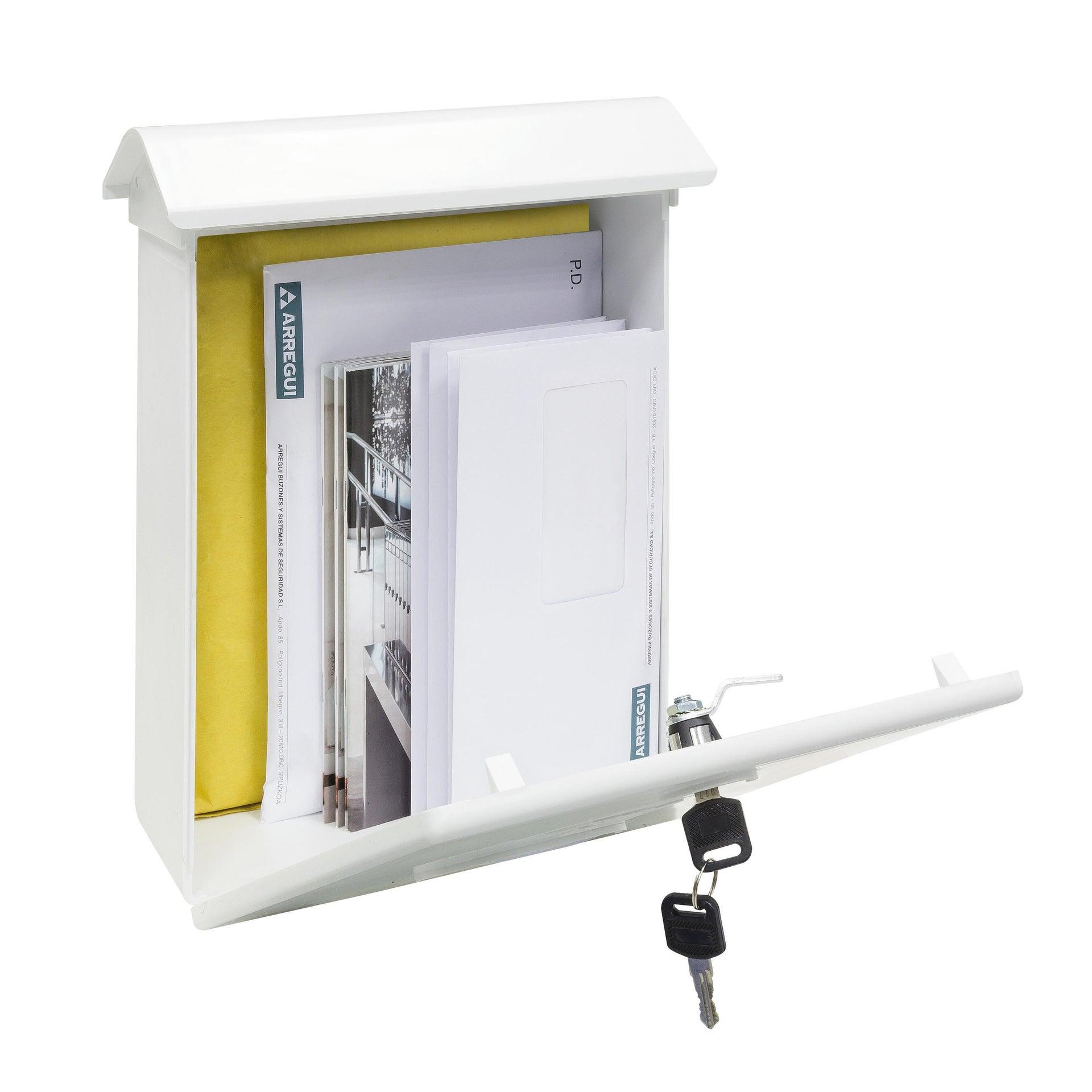 Cassetta postale ARREGUI formato Rivista, nero, L 27 x P 11 x H 34.6 cm - 2
