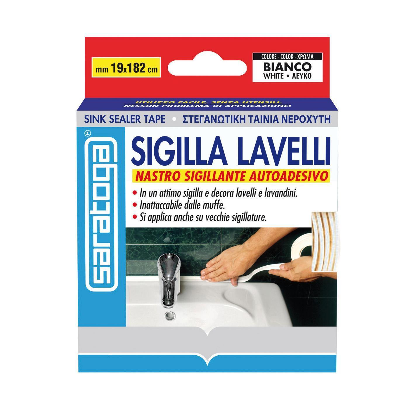 Sigillante SARATOGA Sigilla lavelli bianco 335 ml - 1