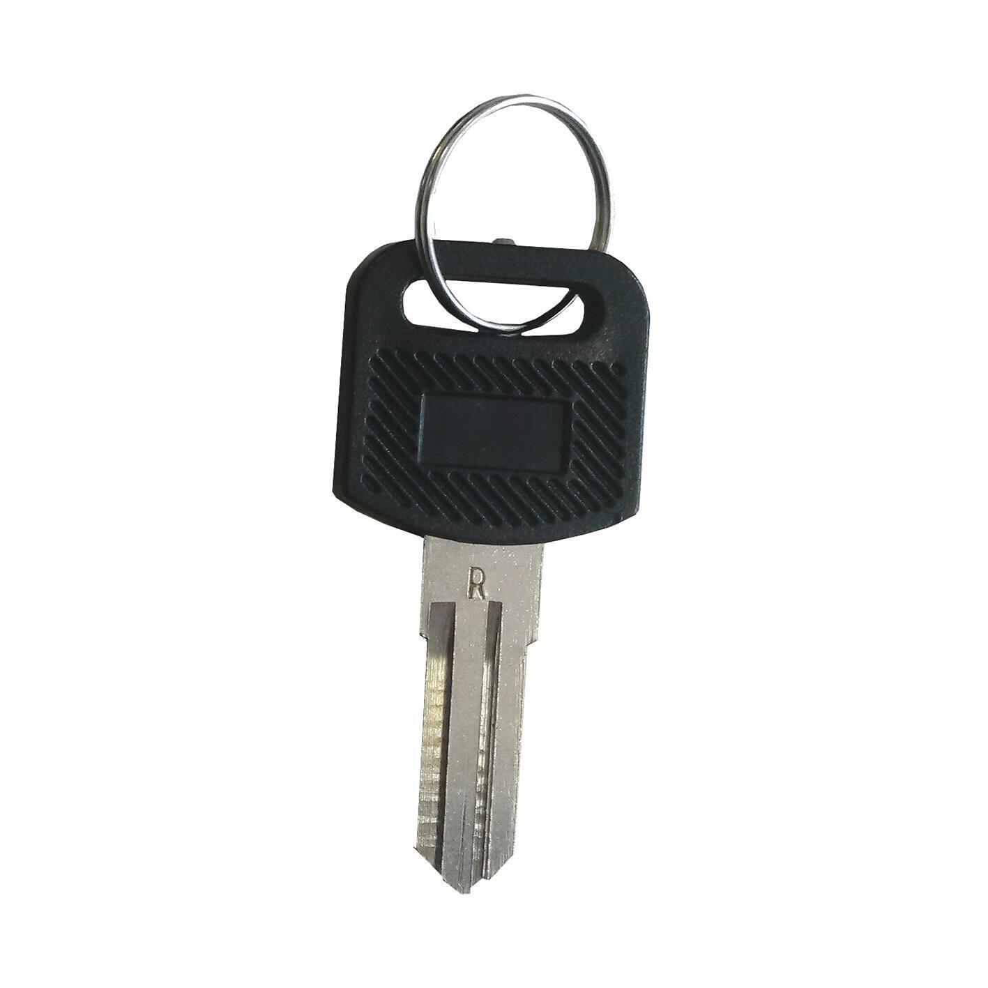 Kit serratura della cassetta postale in acciaio L 2 x H 4 cm - 2