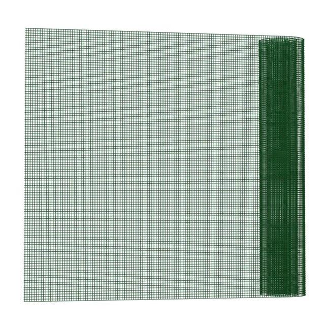 Rotolo di rete metallica saldato Electroplast verde L 10 x H 1 m - 1