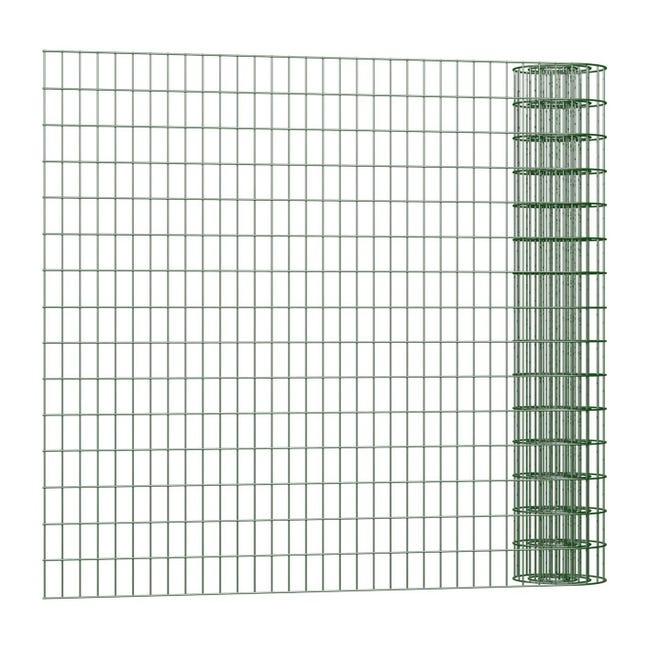 Rotolo di rete metallica elettrosaldato Executive Standard ECO verde L 25 x H 0.8 m - 1