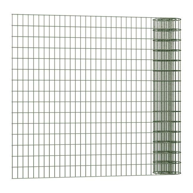 Rotolo di rete metallica elettrosaldato Executive Standard ECO verde L 25 x H 1 m - 1
