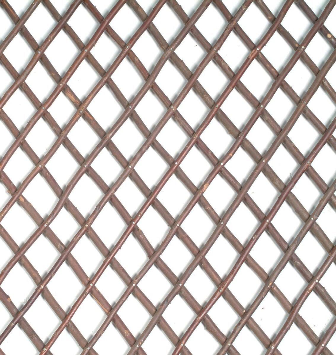Traliccio estensibile Willow trellis in vimini L 200 x H 100 cm , spessore 7 mm