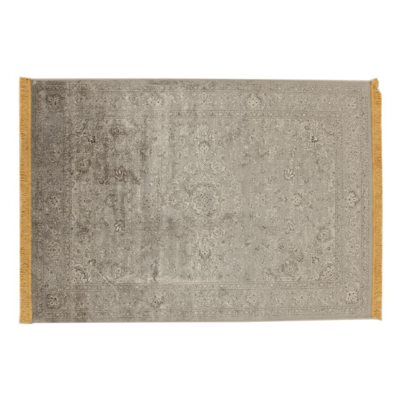 Tappeto persiano Extension in viscosa, giallo, 160x230 - 3