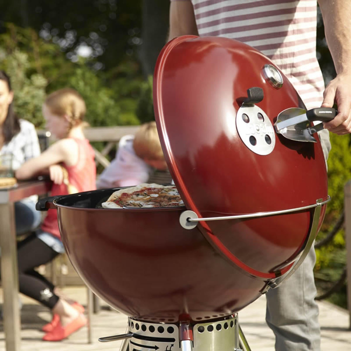 Barbecue a carbonella WEBER Joe Premium D.37 cm - 5