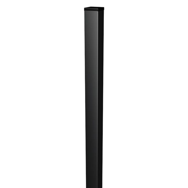 Palo in acciaio galvanizzato plastificato Medium quadrato H 175 cm L 5 x 5 cm - 1
