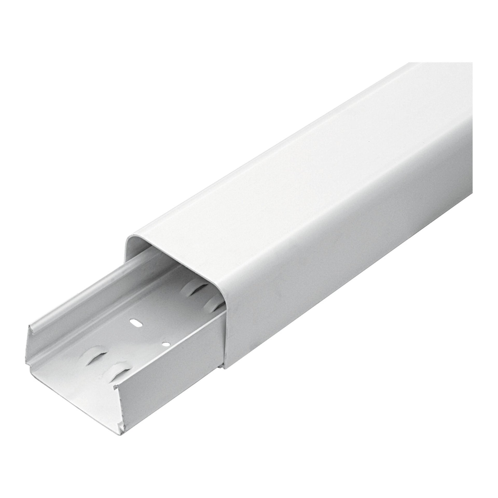 Canalina   6.5 X 200 X 5 cm bianco