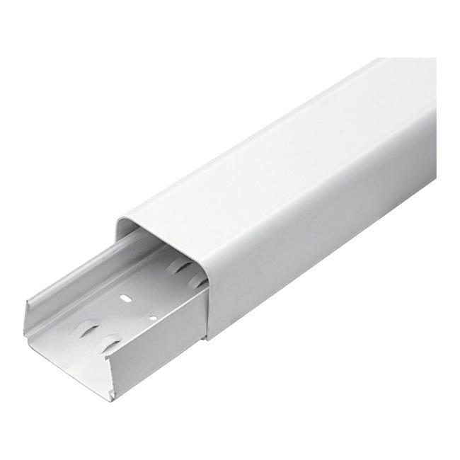 Canalina 6.5 X 200 X 5 cm bianco - 1