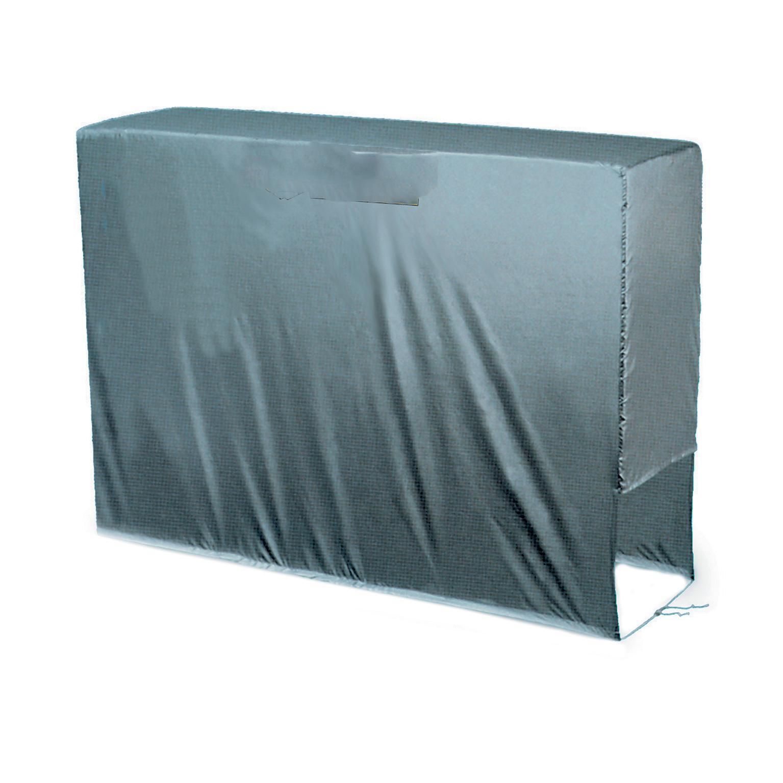 Copertura protettiva per condizionatore in pvc L 80 x P 30 x H 57 cm - 2