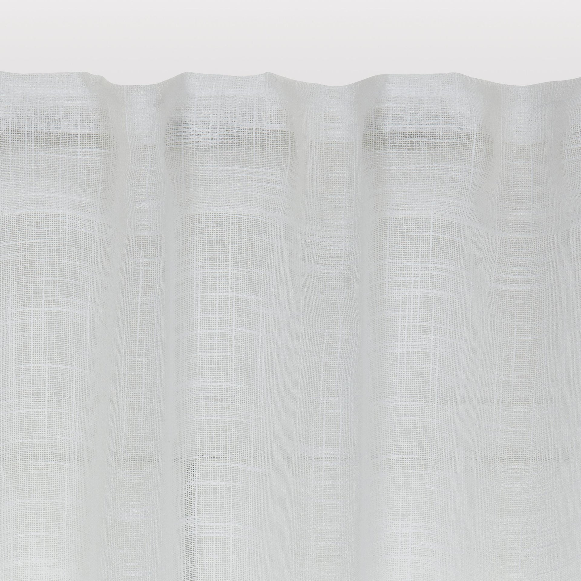 Tenda INSPIRE Amina bianco fettuccia con passanti nascosti 200 x 280 cm - 6