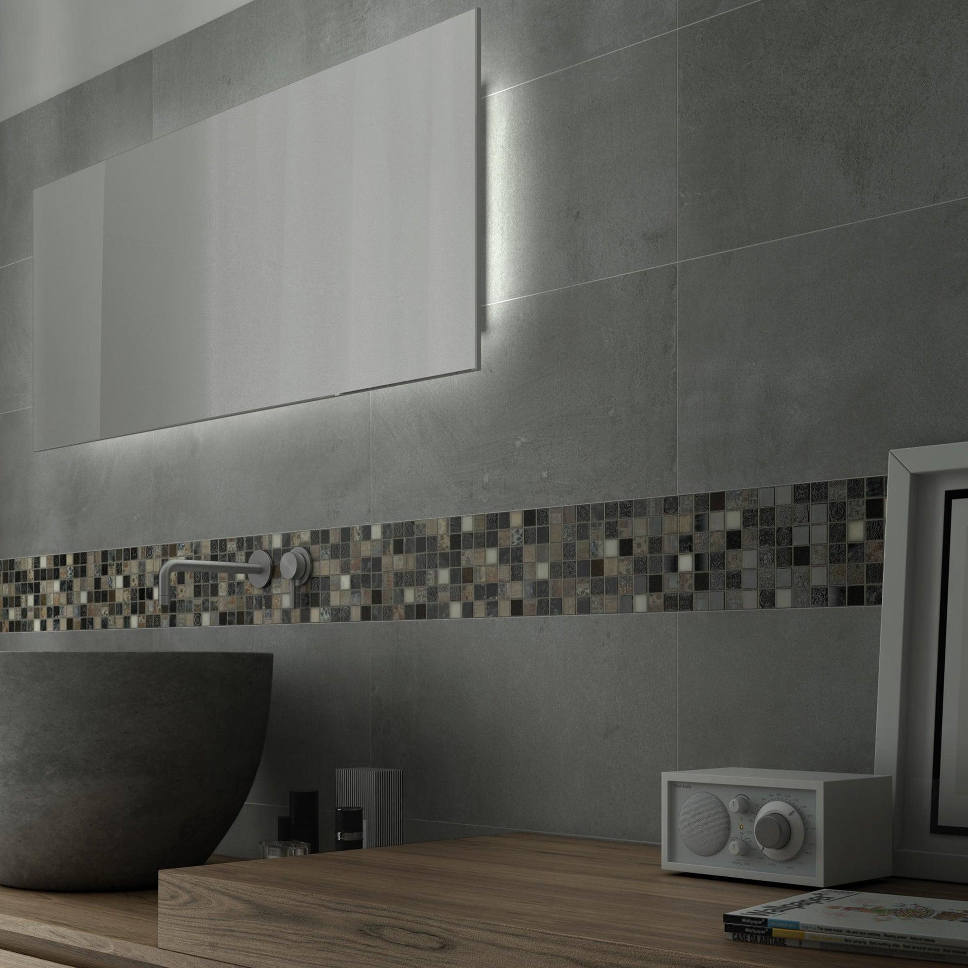 Mosaico Hydre Greyin H 30 x L 30 cm multicolore - 4