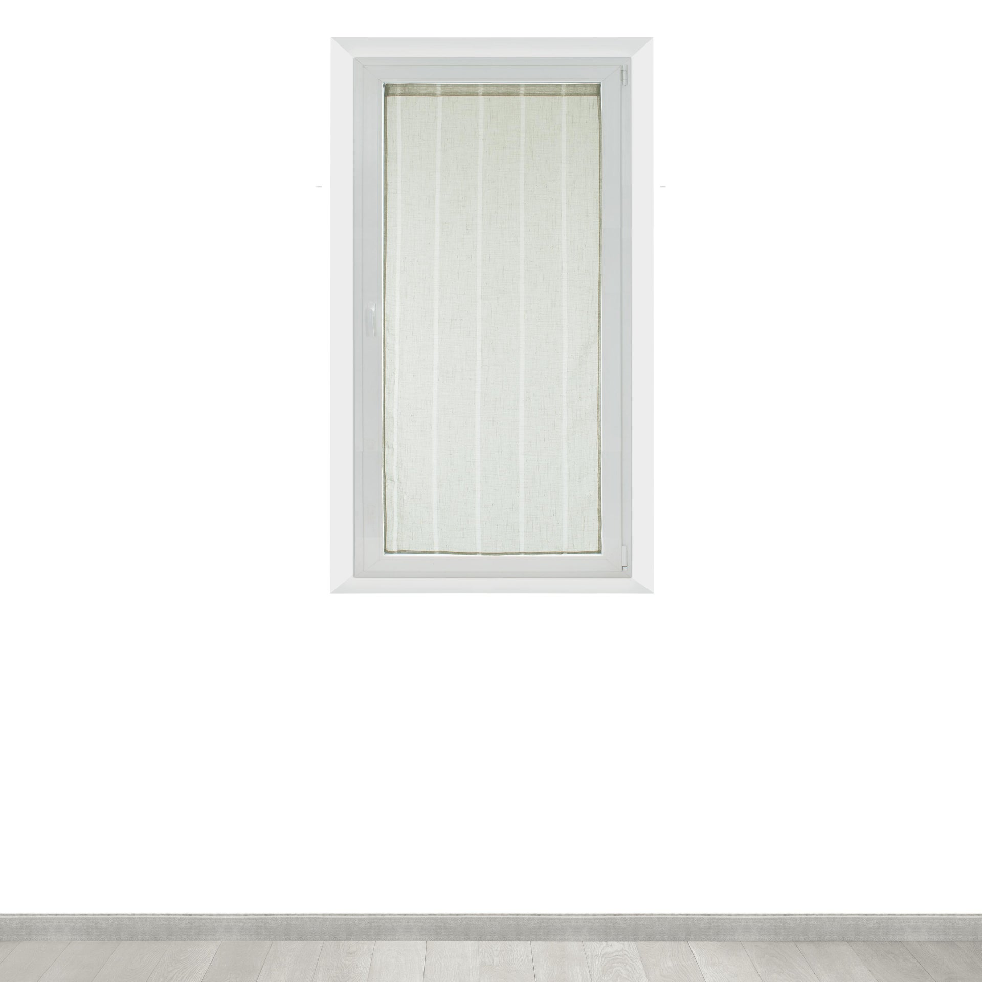 Tendina vetro Lippia tortora tunnel 60 x 160 cm - 2