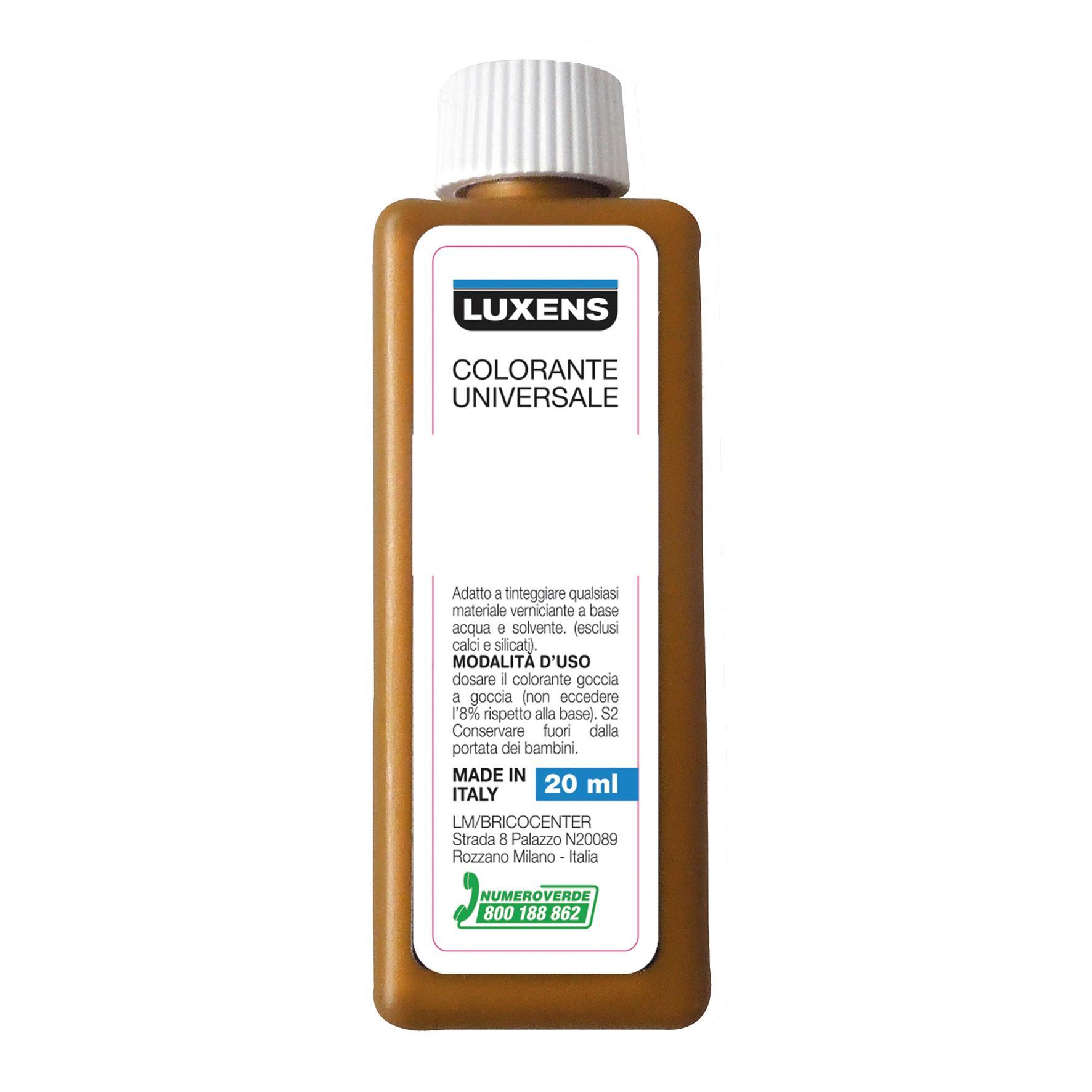 Colorante liquido Luxens 20 ml giallo ossido - 4