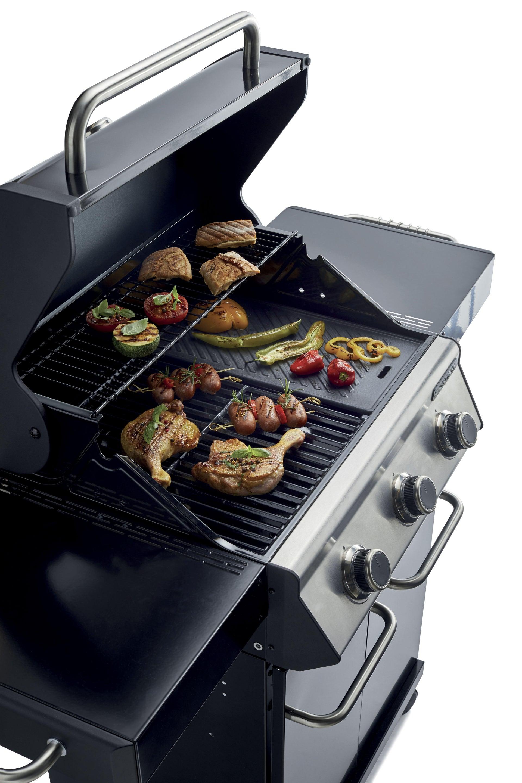 Barbecue a gas NATERIAL Kenton 3 bruciatori - 8