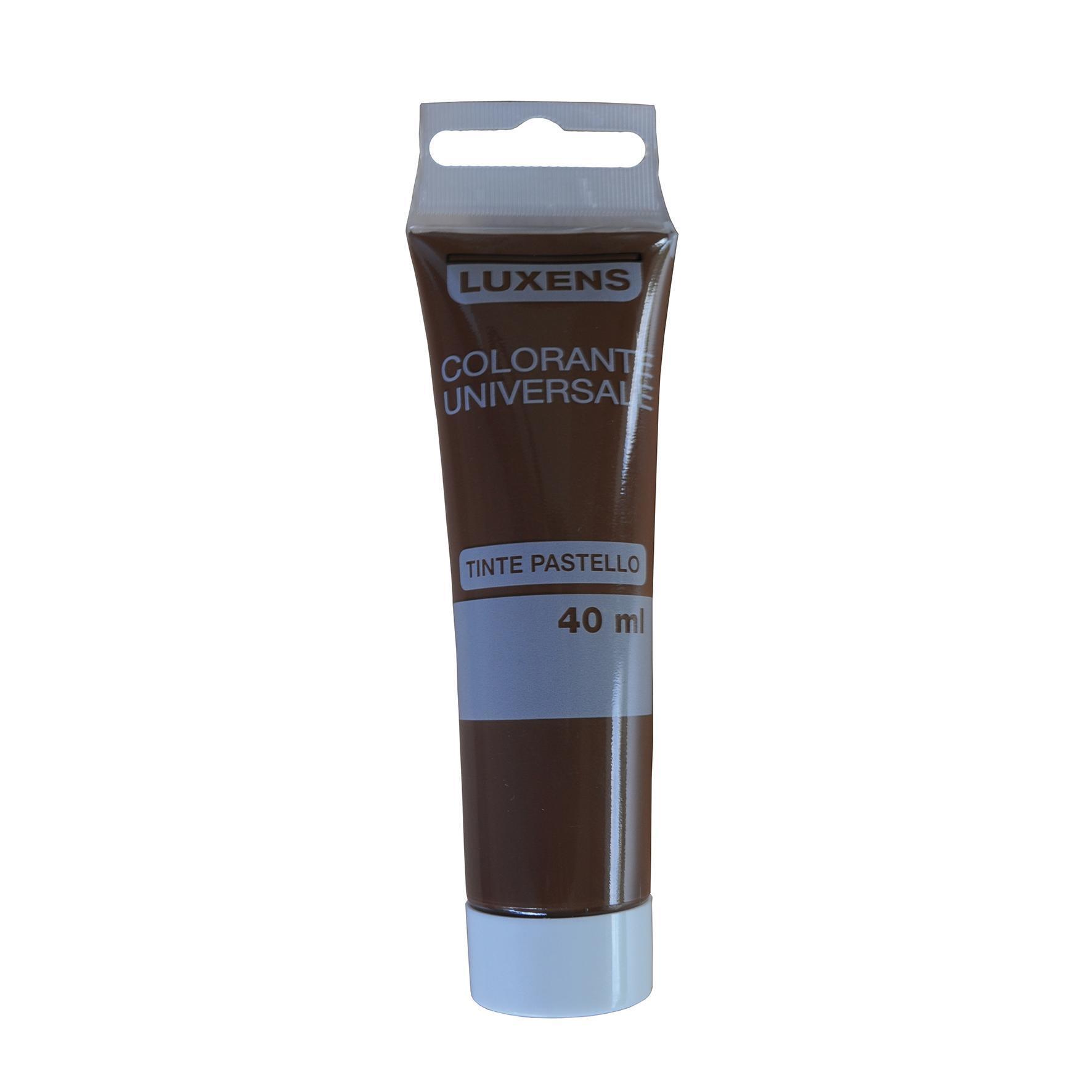 Colorante liquido LUXENS 40 ml marrone ossido - 2