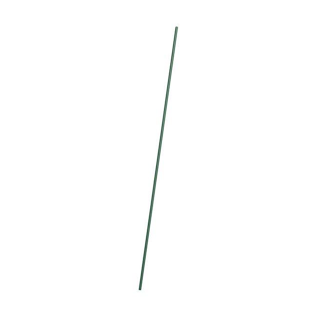 Barra di tensione in acciaio galvanizzato plastificato H 130 cm , colore verde - 1