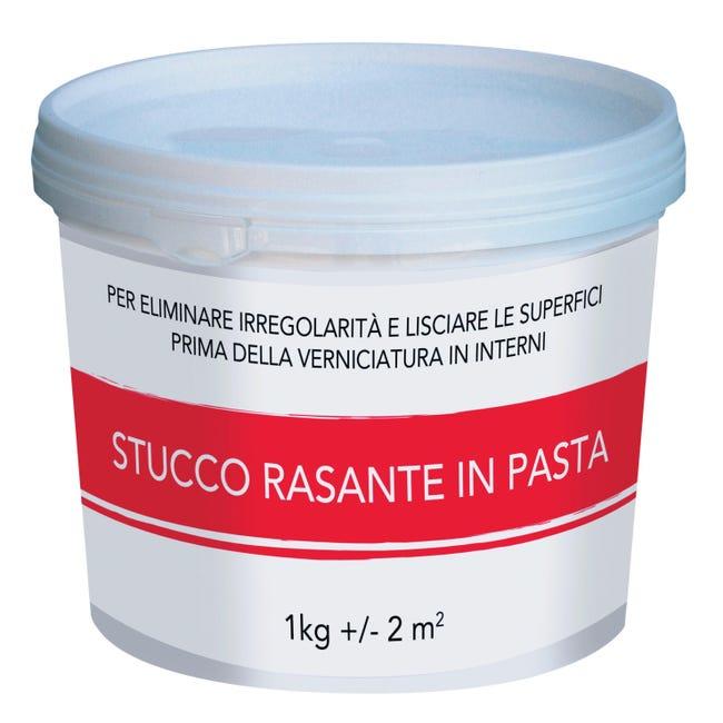 Stucco in pasta Rasante 1 kg bianco - 1
