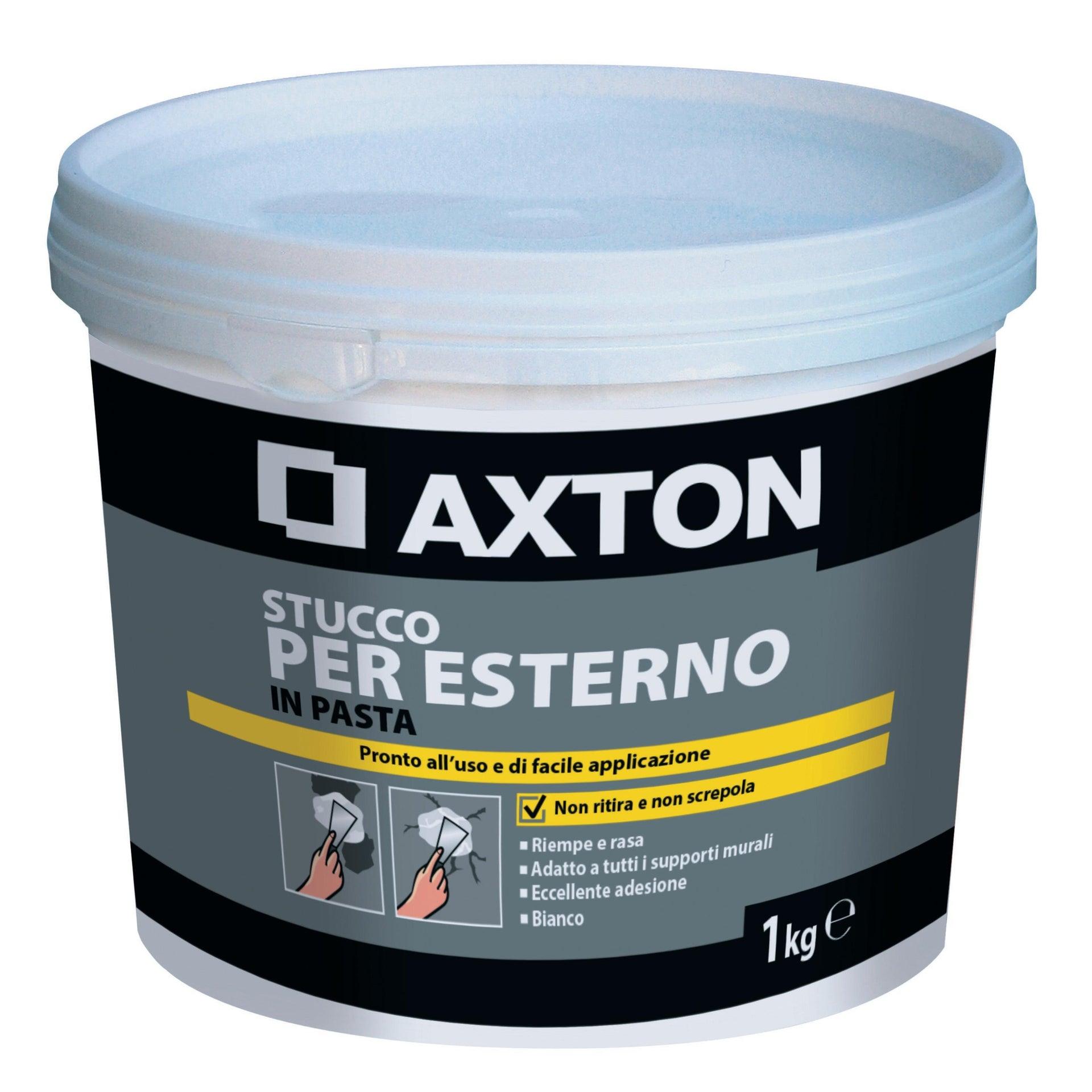 Stucco in pasta AXTON per esterno 1 kg bianco - 1