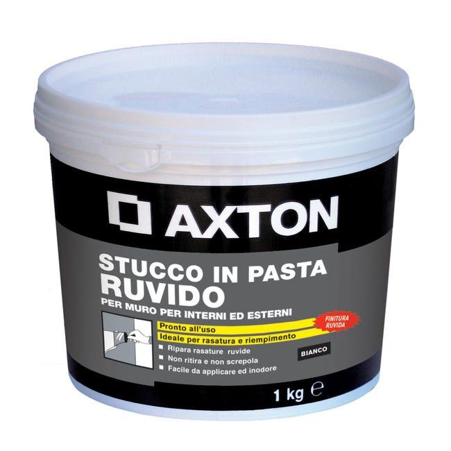Stucco in pasta AXTON 1 kg bianco - 1