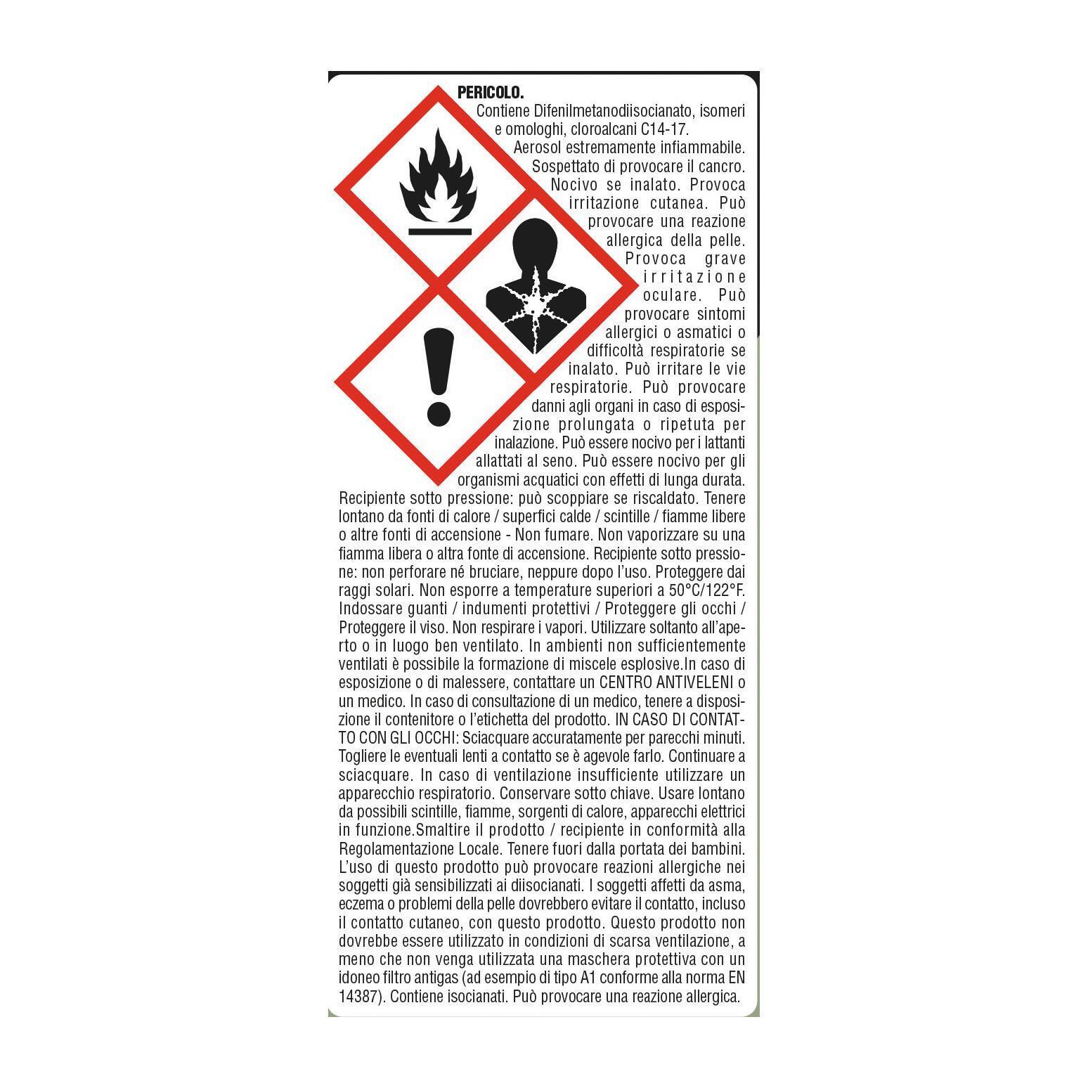 Schiuma poliuretanica grigio 0,5 ml - 3