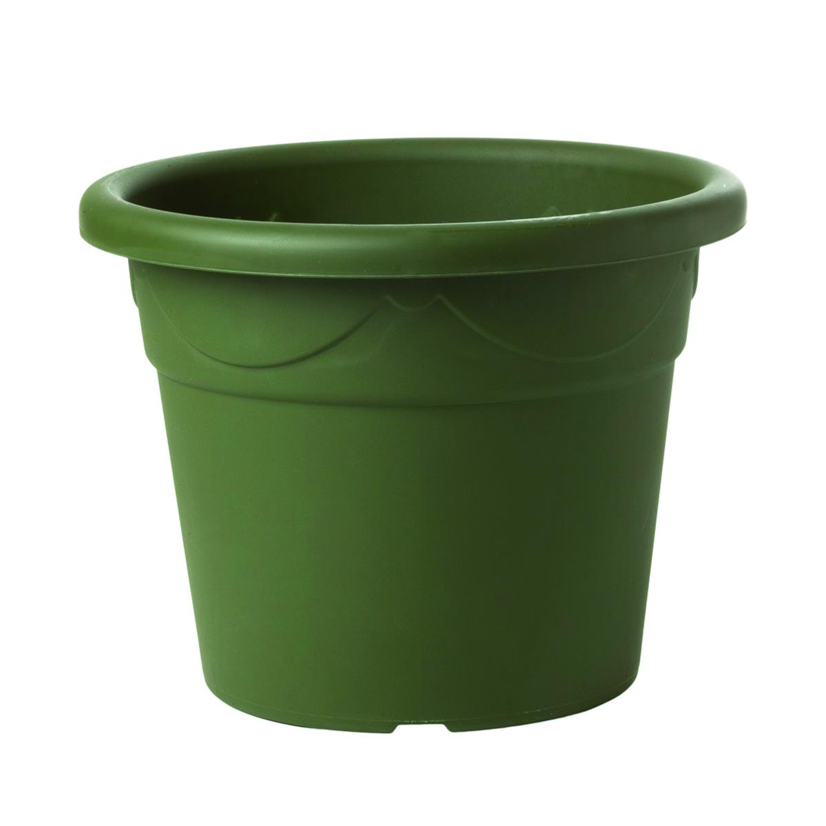 Vaso Corinto in polipropilene colore verde H 42.5 cm, Ø 58 cm
