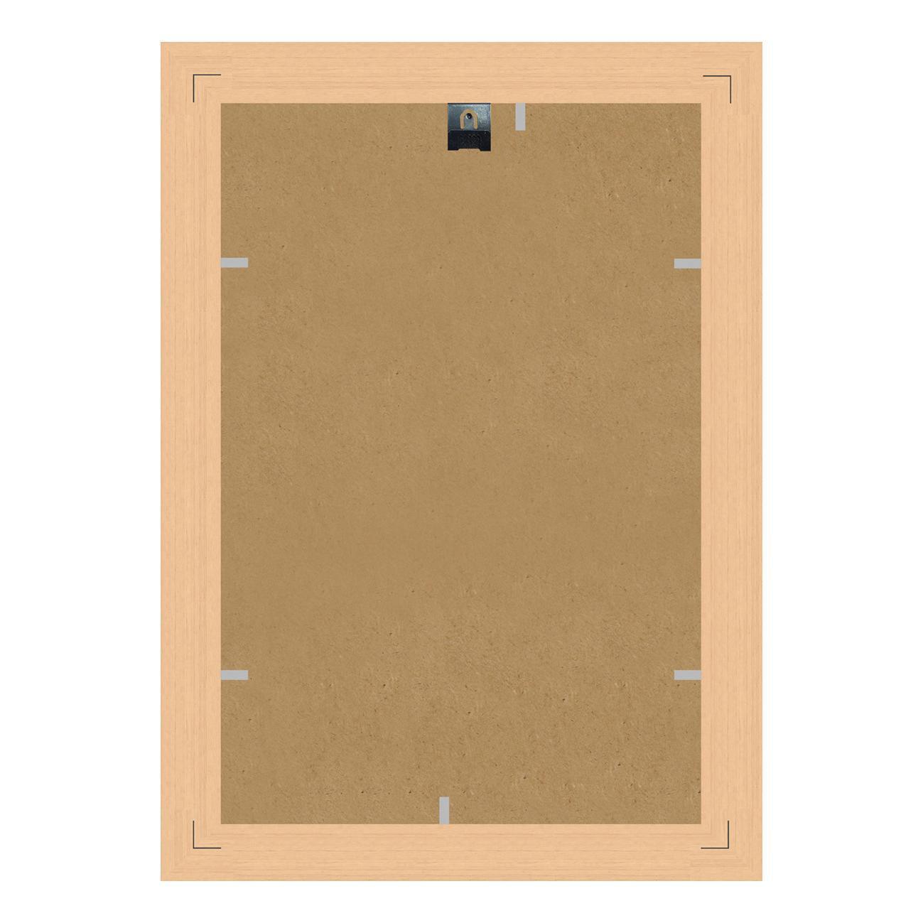 Cornice INSPIRE Boston avorio<multisep/>oro per foto da 29.7x42 cm - 3