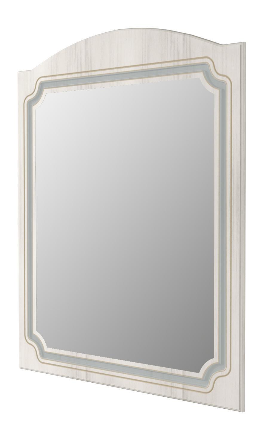 Specchio non luminoso bagno rettangolare Caravaggio L 80 x H 100 cm - 1