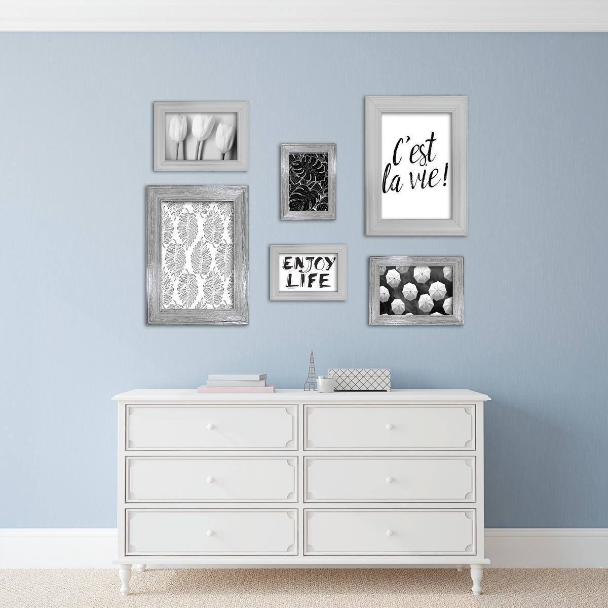 Cornice INSPIRE Louise bianco per foto da 13x18 cm - 2