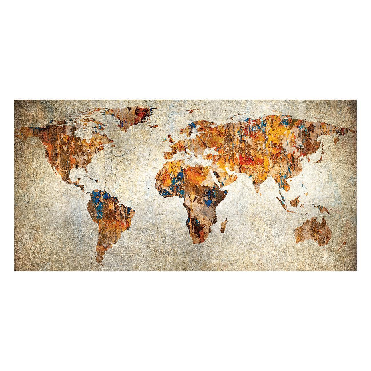 Dipinto su tela Maps 70x140 cm - 1