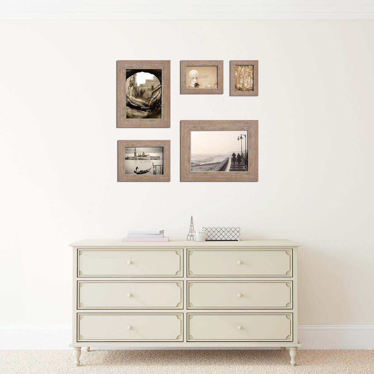 Cornice INSPIRE Style beige per foto da 30X40 cm - 4