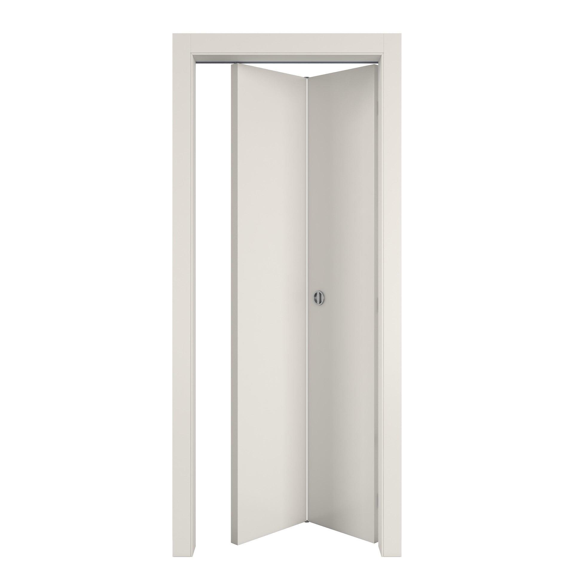 Porta pieghevole Strauss bianco L 80 x H 210 cm reversibile - 6