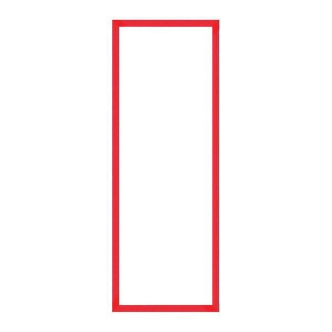Cornice puzzle 1000 pezzi rosso per foto da 37.4x98.4 cm - 1
