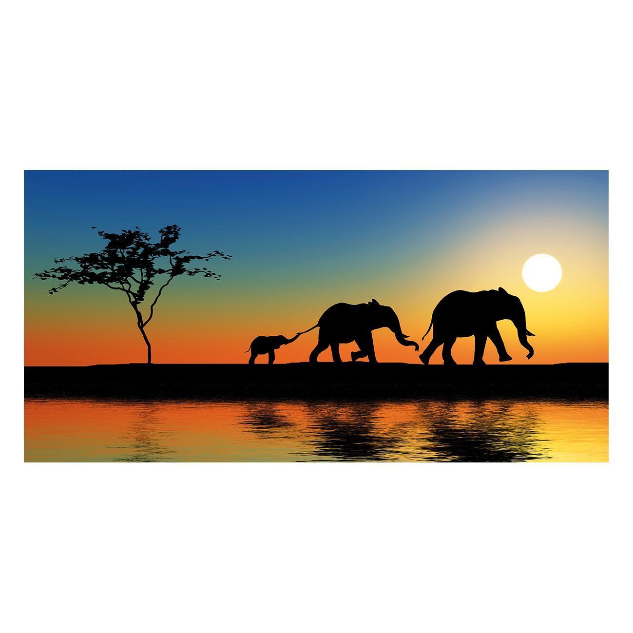 Dipinto su tela Africa 120x60 cm - 1
