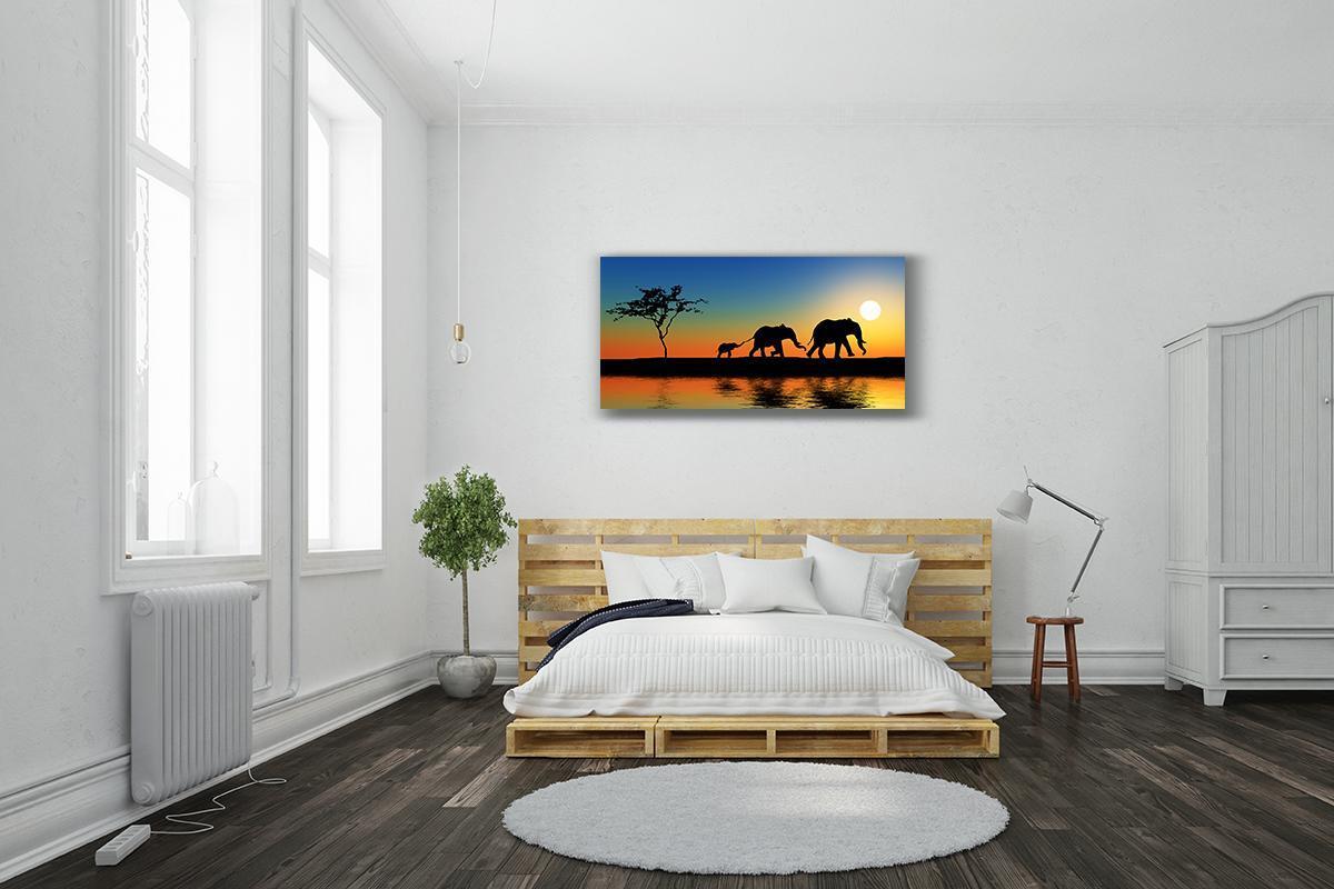 Dipinto su tela Africa 120x60 cm - 2