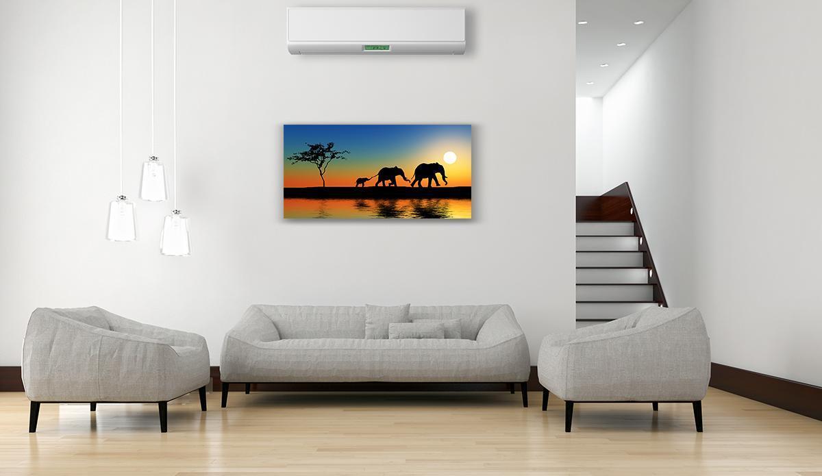 Dipinto su tela Africa 120x60 cm - 3