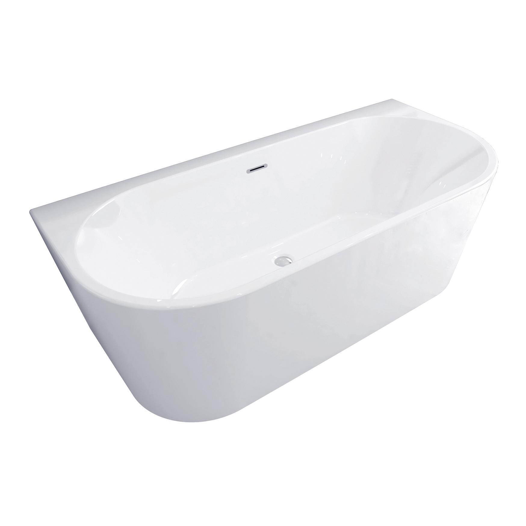 Vasca rettangolare Torino bianco 170 x 80 cm SANYCCES - 3