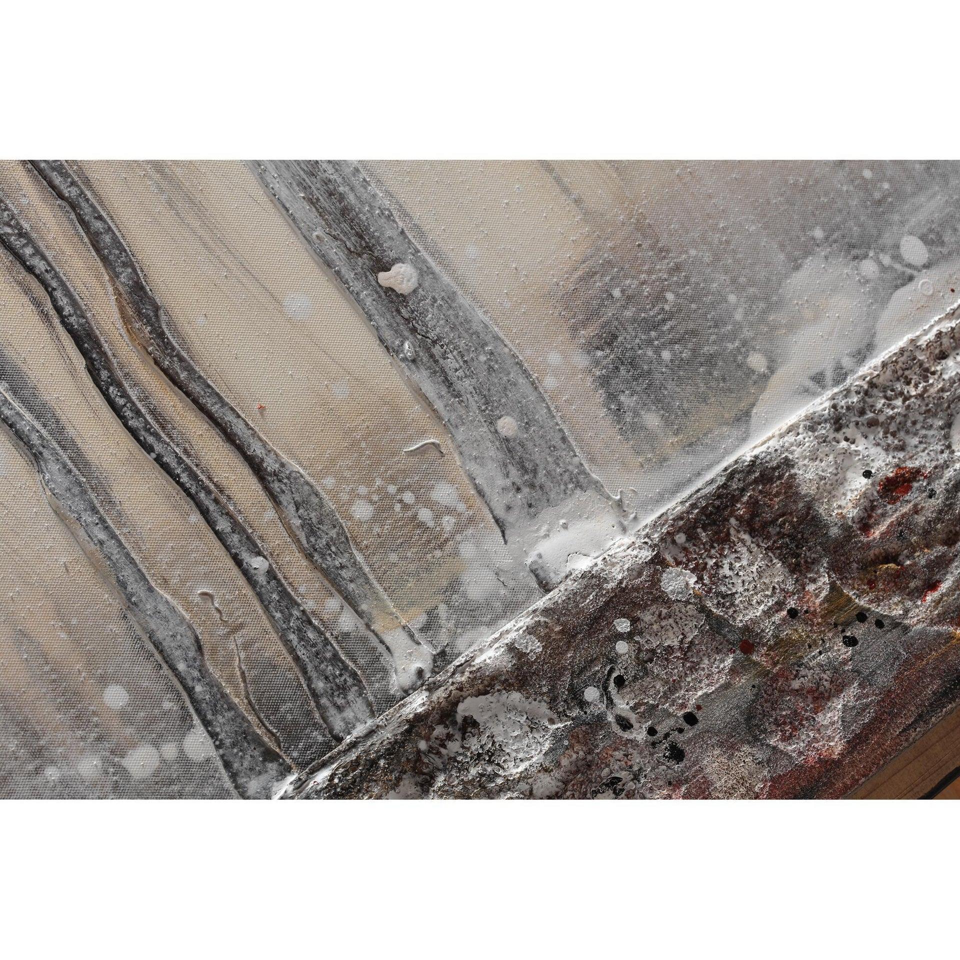 Tela Bosco In Inverno 180x80 cm - 5
