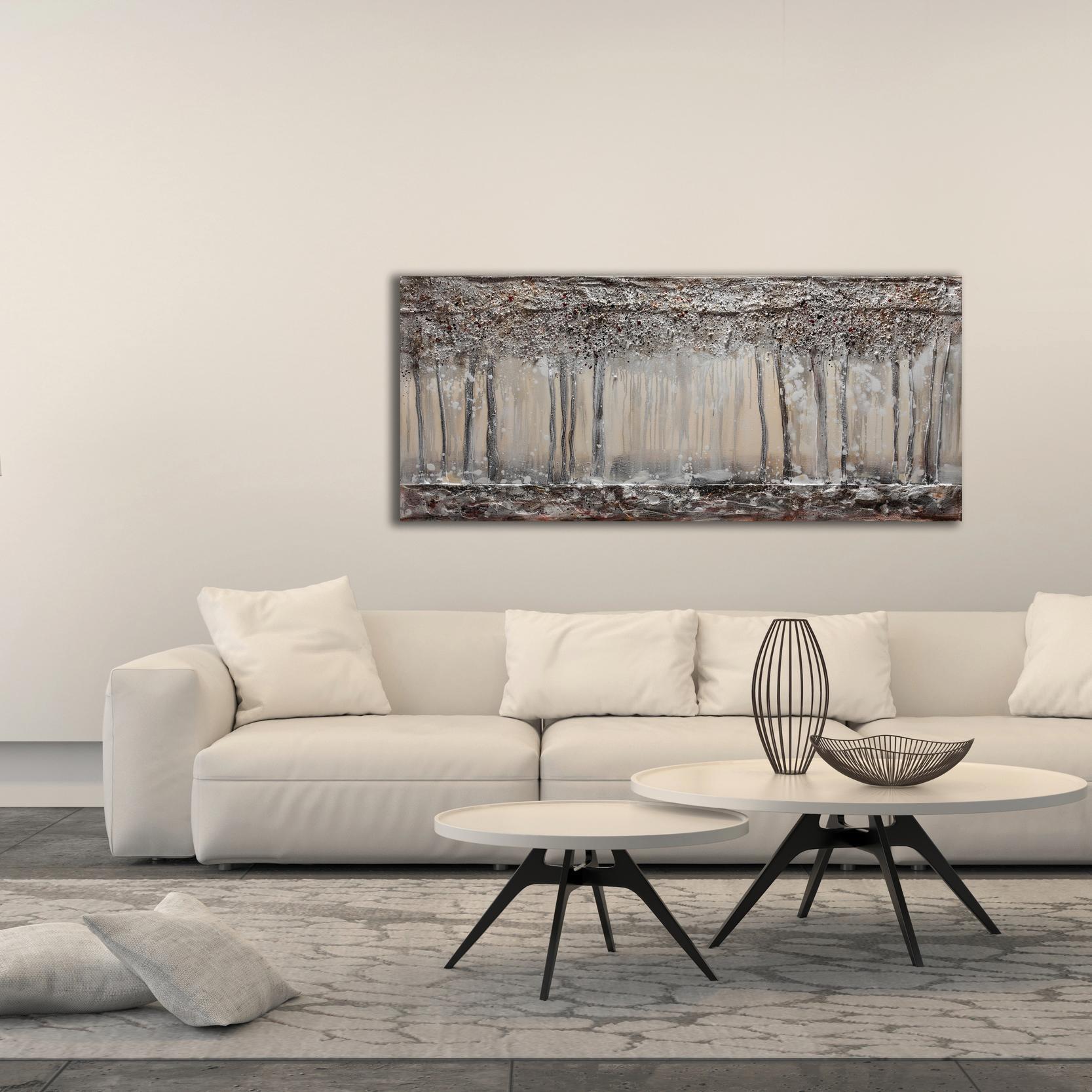 Tela Bosco In Inverno 180x80 cm - 4