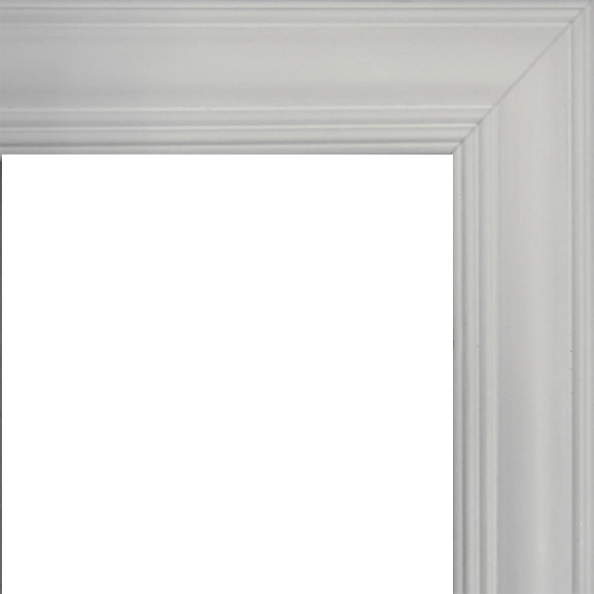Cornice INSPIRE Louise bianco per foto da 29.7x42 cm - 4
