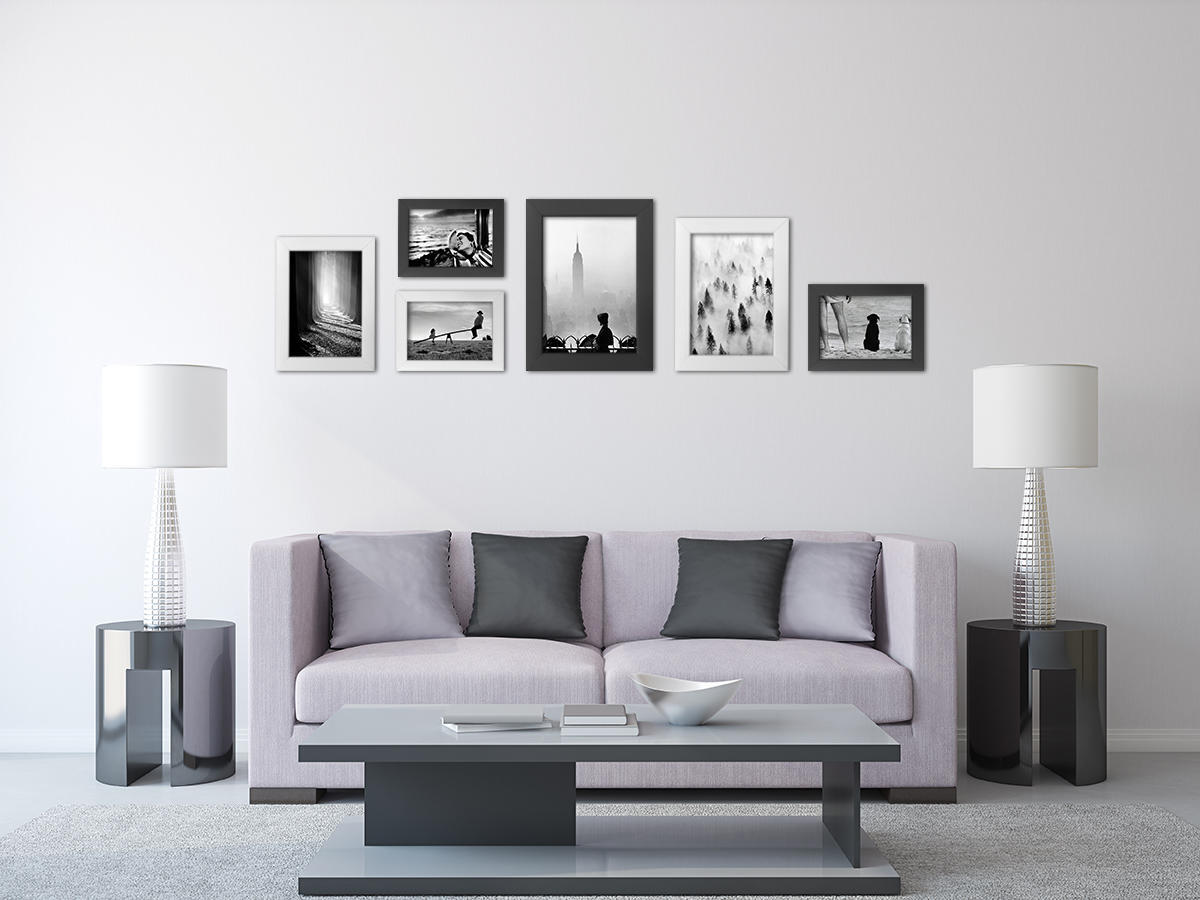 Cornice INSPIRE Pulp bianco per foto da 70x100 cm - 6