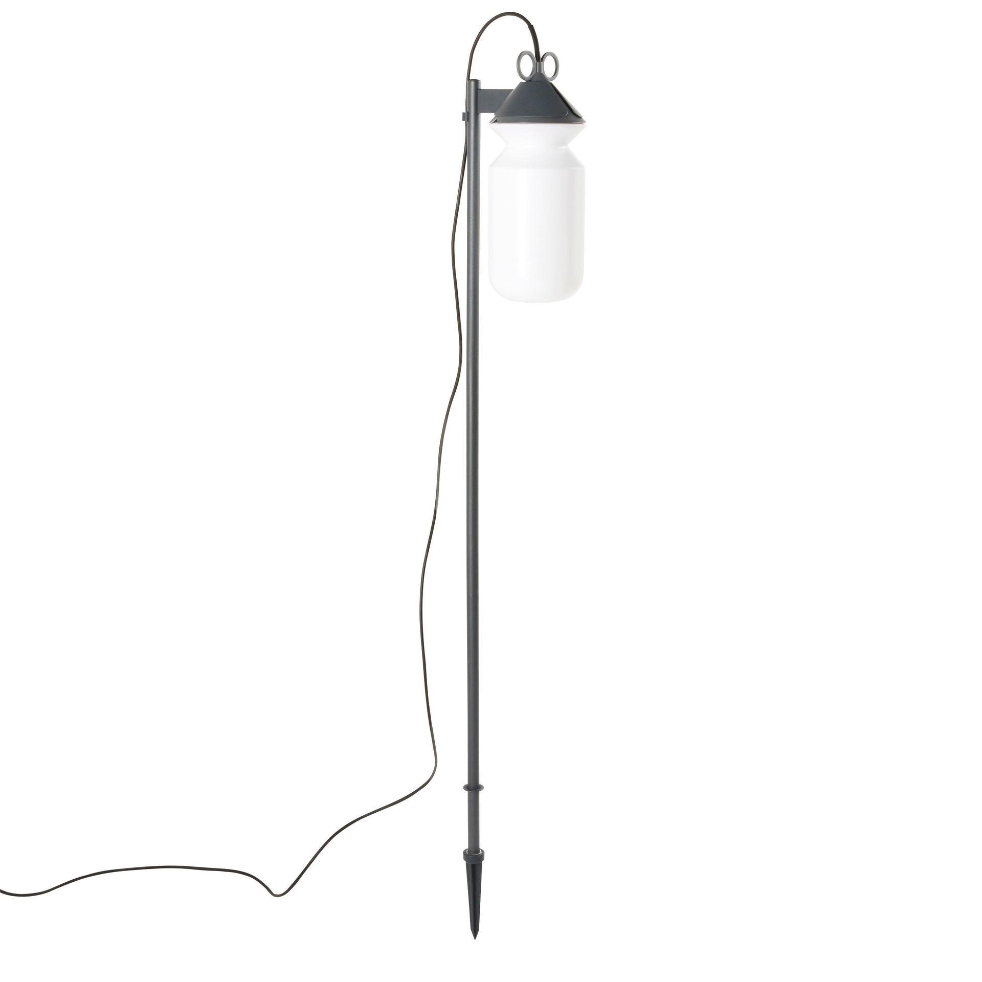 Lampada da esterno H 155 cm, in alluminio, E27 IP44 INSPIRE - 7