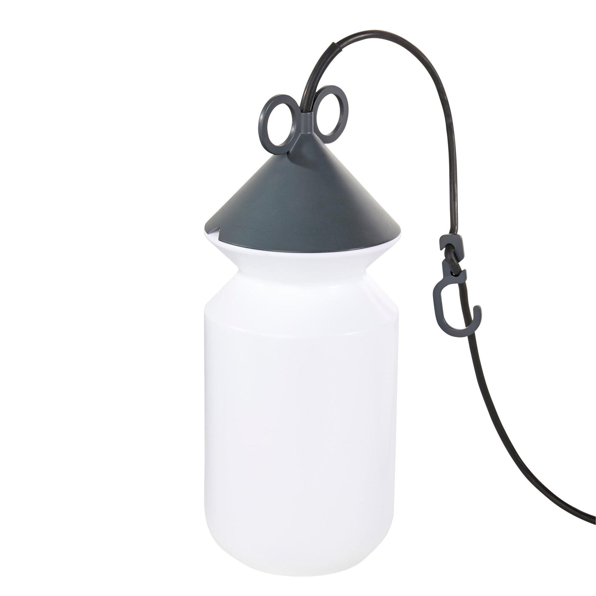 Lampada da esterno H 155 cm, in alluminio, E27 IP44 INSPIRE - 5