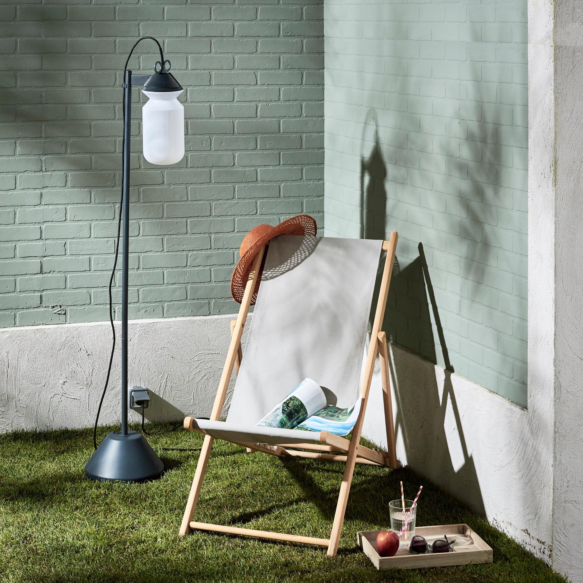 Lampada da esterno H 155 cm, in alluminio, E27 IP44 INSPIRE - 10