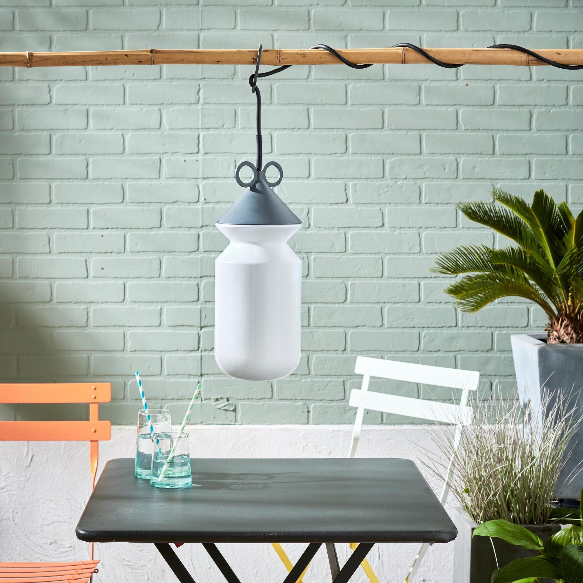 Lampada da esterno H 155 cm, in alluminio, E27 IP44 INSPIRE - 12